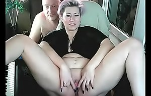 Legitimate husband fucks the famous webcam whore AimeeParadise in all her holes ... ))