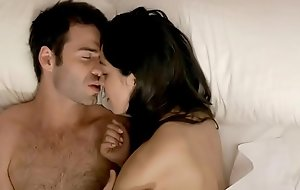 Romantic Morning Sex  HD - Beautiful Babe in the Bed with his Boyfriend - HBO - Roommate - Belen Fernandez