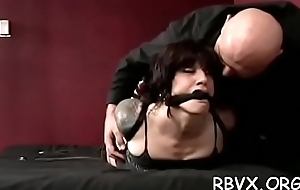 Girls get delimited pile up and titillated hard by a marital-device
