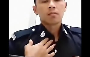 malaysia police showing off