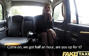 Fake Taxi Adult Milf gets their way big pink flaps hard to believe open