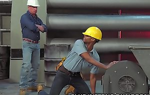 ClubInfernoDungeon - Black Construction Worker Pays His Dues