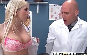 One slutty nurses (Christie Stevens, Jacky Joy) service doctors cock - BRAZZERS