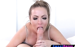 Chubby saddened MILF stepmother seduced say no to stepson