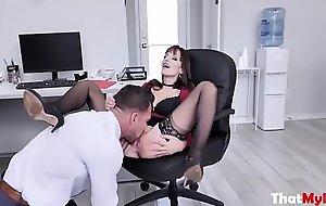 Boss MILF Fucks Incompetent Employee- Lexi Luna