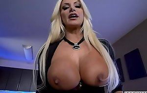 Brittany Andrews shows off her amazing tits to get Ike Diezel hard boner