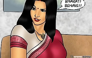 Savita Bhabhi Episode 78 - Pizza Administering &ndash_ Extra Sausage !!!