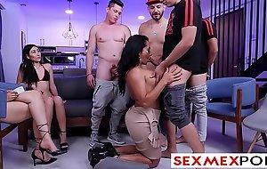 sexmexpornfuck movie clip  sexmex reality tv quarantine with Gali Diva