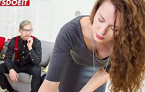 LETSDOEIT - Sex Addicted Guy Fucks A Busty Tourist MILF - Sofia Curly