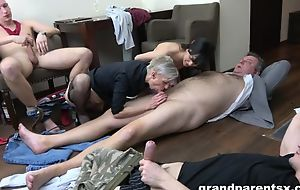 Breathtaking XXX group action with amateur bitches