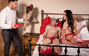 Gorgeous Italian babe gets properly fucked by a well-hung Cupid