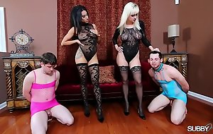 Humiliated For a difficulty Job 1: Foot Worship/Humiliated For a difficulty Job 2:Stocking Admire