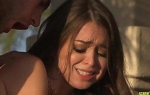Riley Reid squirts on stepbrother's hard load of shit - SCREWBOX