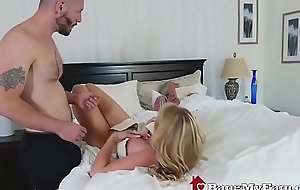 Stepson Fucks Hot Mom Rachael Cavalli Stalk To Dozy Dad
