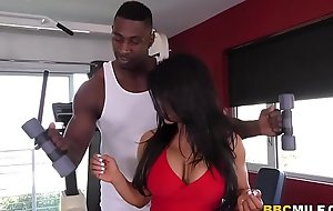 Raven Hart Squirts From Black dude's big dick During Anal