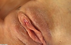 Wait for Roxanne gonzo style solo masturbating on Give Me Pink