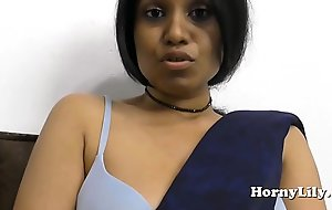 Indian fuck movie MILF spreads her hairy muff with the addition of fucks her big aggravation