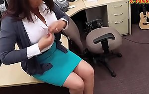 Busty milf fucked to bail out her hubby