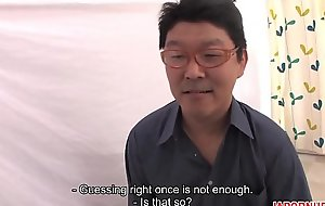 JAV Uncensored with english subtitle: Pussy Guess Relaxation - P.2 of 10