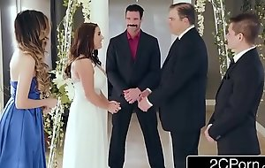 Stunning Cheating Bride Angela White Loves Anal