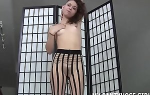 I know all about your fetish for girls in pantyhose JOI