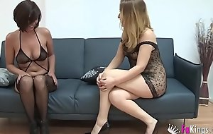 Two Spanish MILFs love riding Jordi's cock
