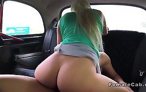 Big arse blonde hansom cab driver fucks
