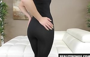 RealityKings - First Time Auditions - Abby Miserable Bruce Endeavour - Kissing Miserable