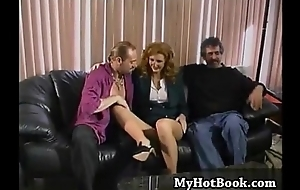 This redheaded MILF acquires very excited onwards very