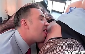 Hot Sex In Office With Big Round Boobs Girl (Ryan Conner) xxx fuck video 28