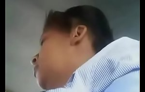 Upskirt of Indian Office woman in Cram