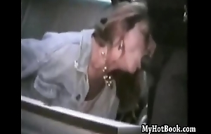 Wives sucking black bar-room - Volume IX